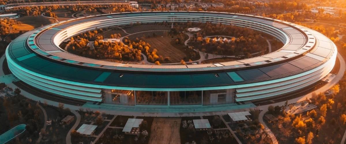 Siège social de l'entreprise Apple en Californie