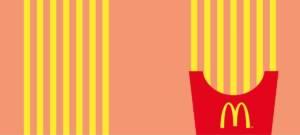 Mcdonald's France transforme ses cornets de frites en panneaux routiers