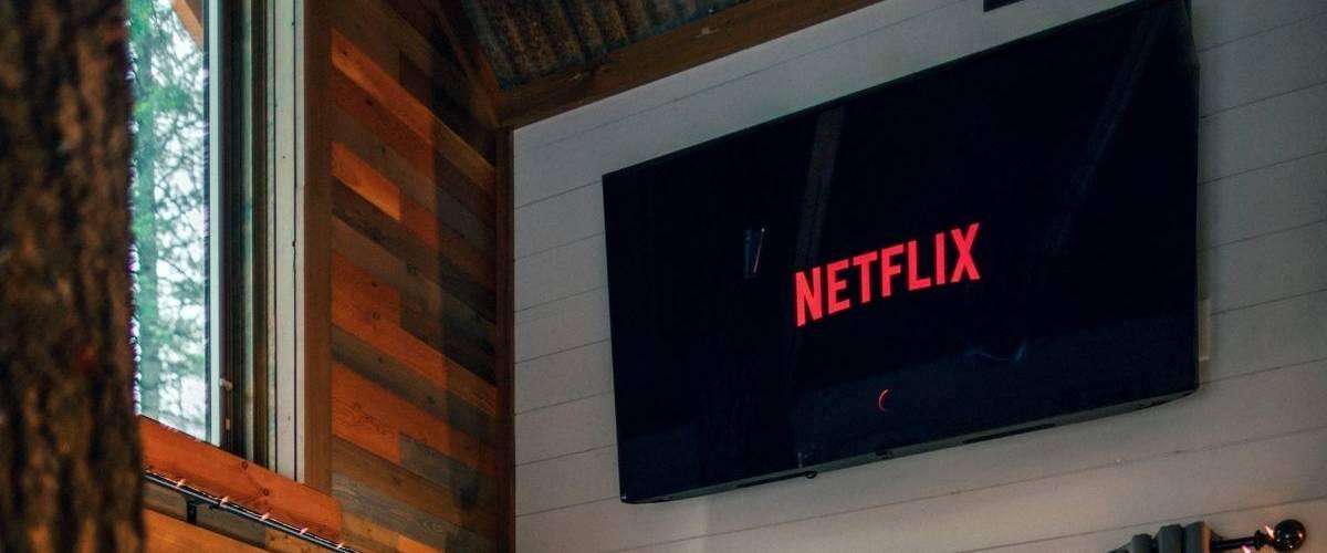 Un téléviseur sur la plateforme Netflix