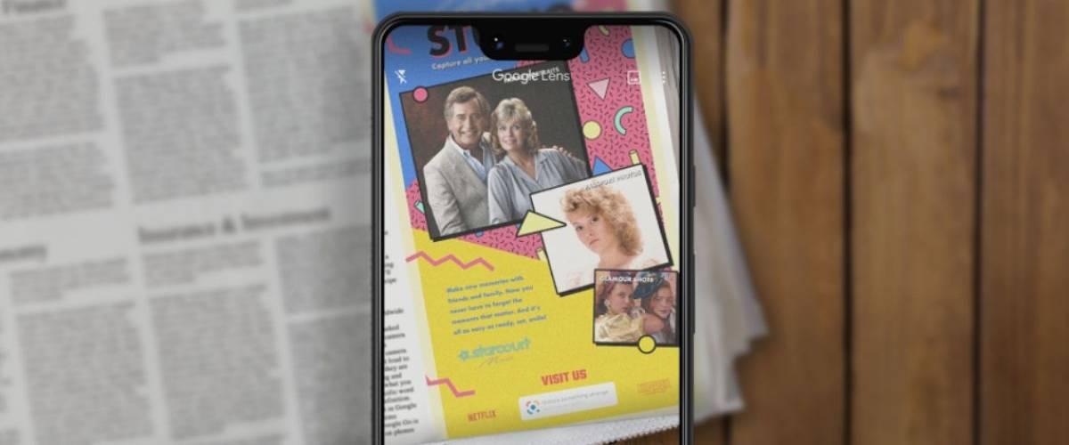 Netflix donne vie au New York Times avec Google Lens pour promouvoir Stranger Things
