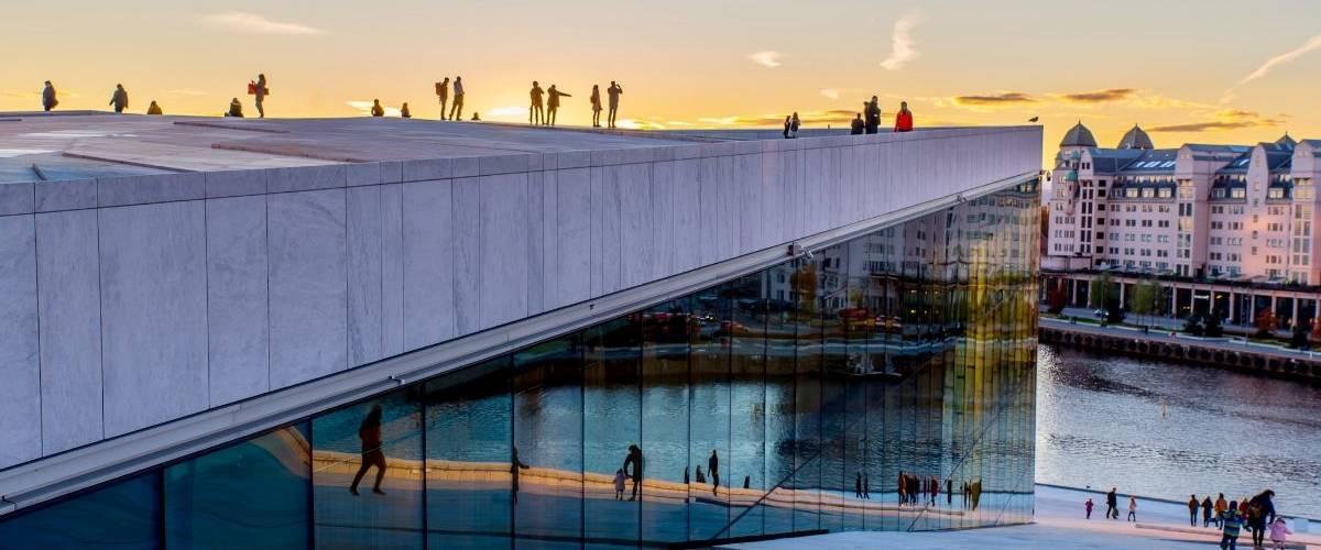 Vue panoramique de la ville Oslo
