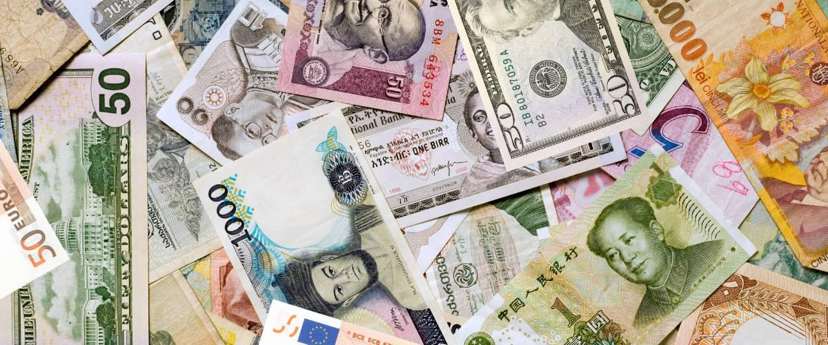 Des billets de banque du monde entier
