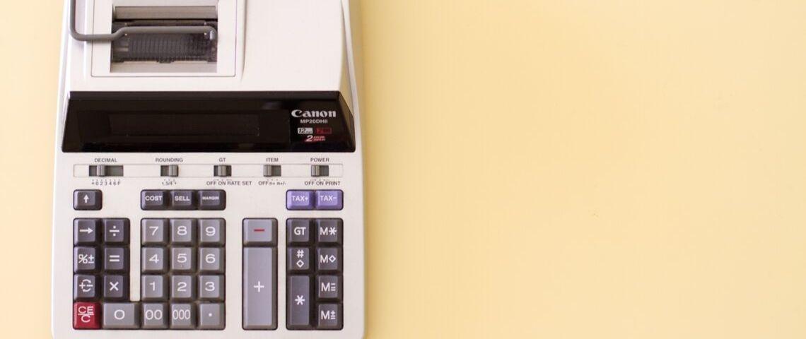 calculette vintage Casio