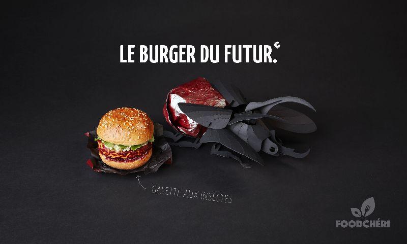 Le burger du futur de FoodChéri