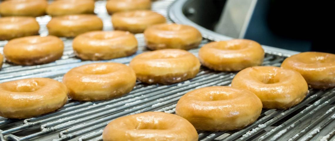 Une fabrique de donuts