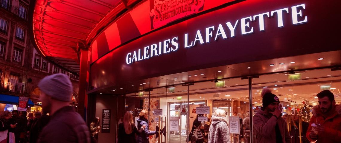 magasins Paris Galeries Lafayette