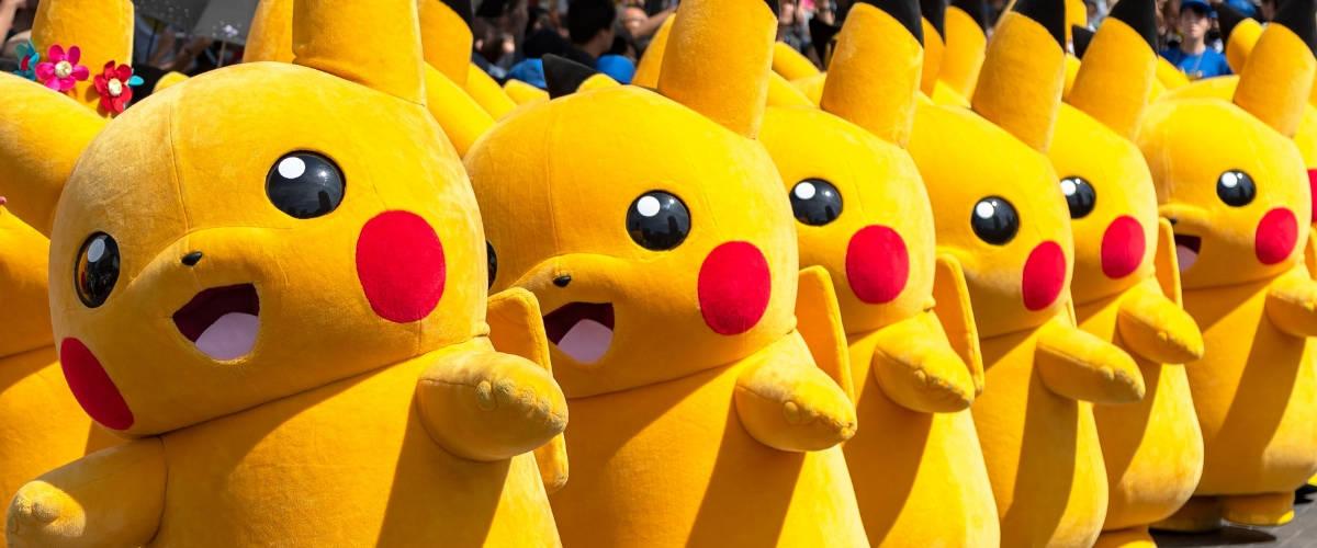 Des peluches Pokemon