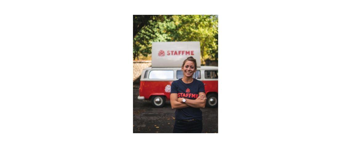 Photo de Camille Six, nouvelle directrice commerciale de StaffMe