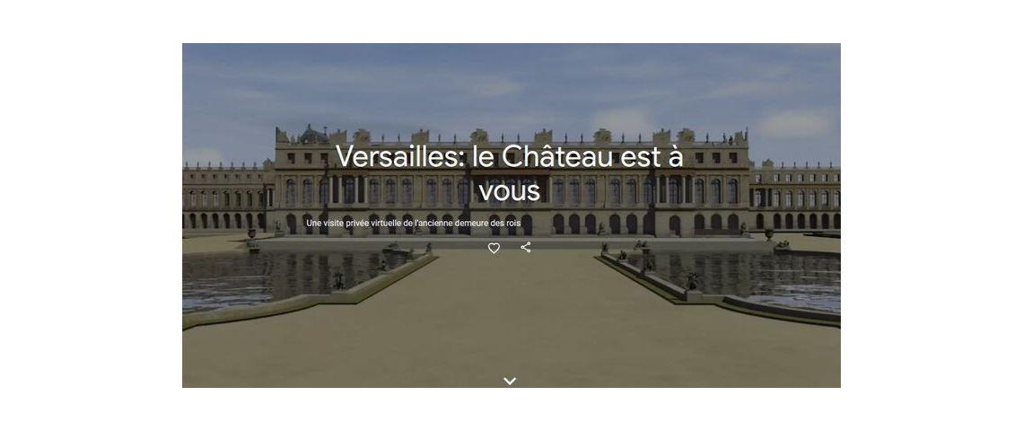 Photo du château de Versailles