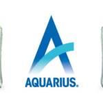 Visuel de la nouvelle eau Aquarius pour les millenials de Coco-Cola