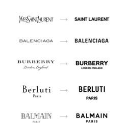 Logos de marques de luxe