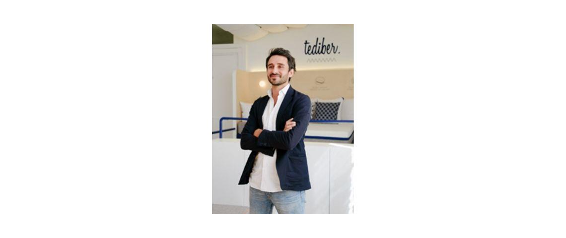 Photo de Julien Sylvain, fondateur de Tediber et à l'initiative de DNVB