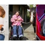 Triptyqye de phot d'enfants en situtaion de handicap