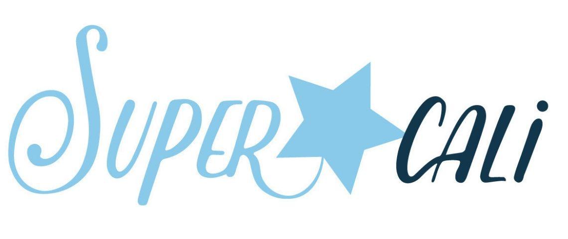 Logo supercali - Label de musique de catalogue
