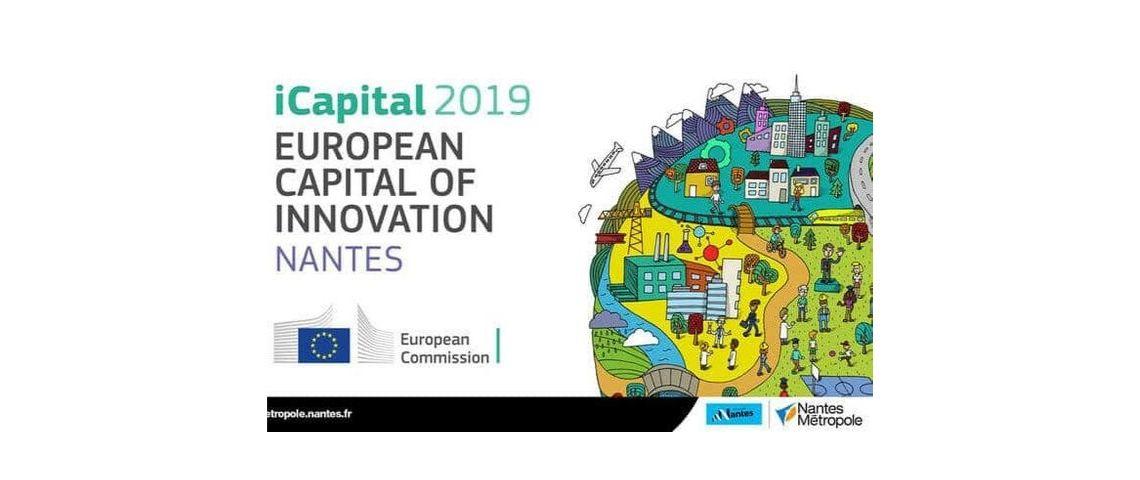 Visuel d'illustration avec le logo du concours de la capitale euopéenne de l'innovation 2019