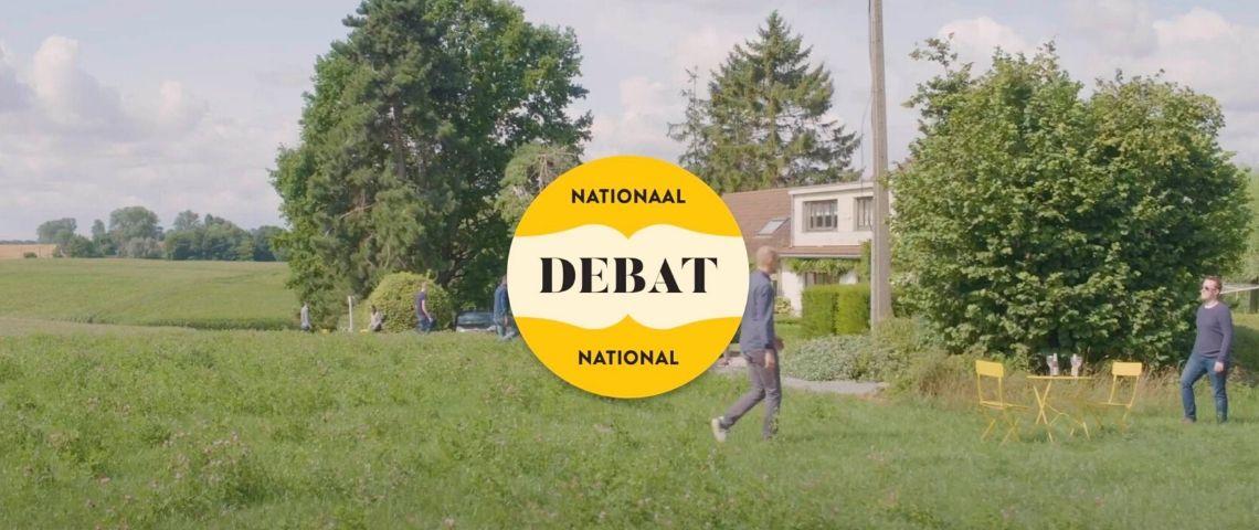 Visuel de la campagne The National Debate