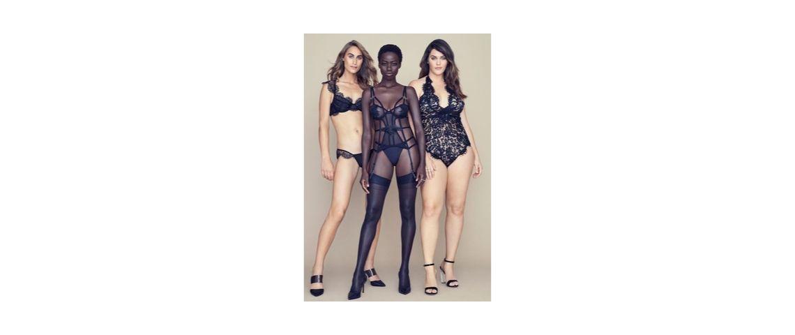 Phot de 3 mannequin qui illustre la diversité