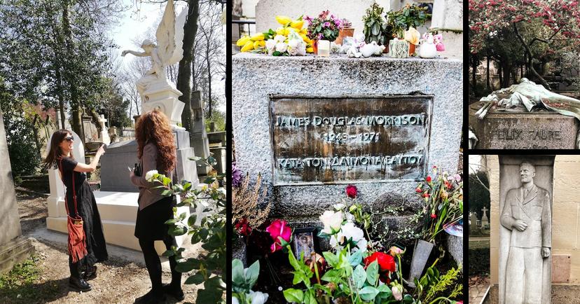 Photo du cimetière du Père Lachaise
