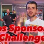 """un youtubeur qui lance sa vidéo avec le titre """"vidéos sponsorisés challenge"""""""