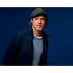 Photo de Brad Pitt, nouvelle égérie de la campagne de communication de Boursorama