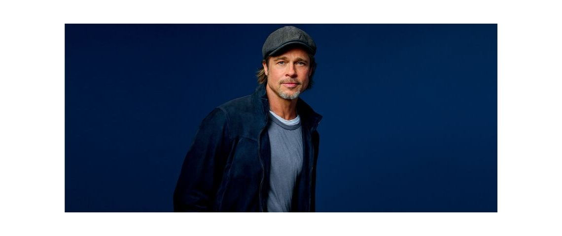Photo de Brad Pitt, nouvelle égérie de la campagne de communication de Boursorama
