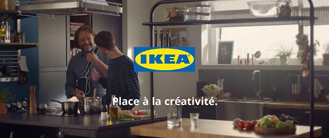 Capture 'écran de la publicité