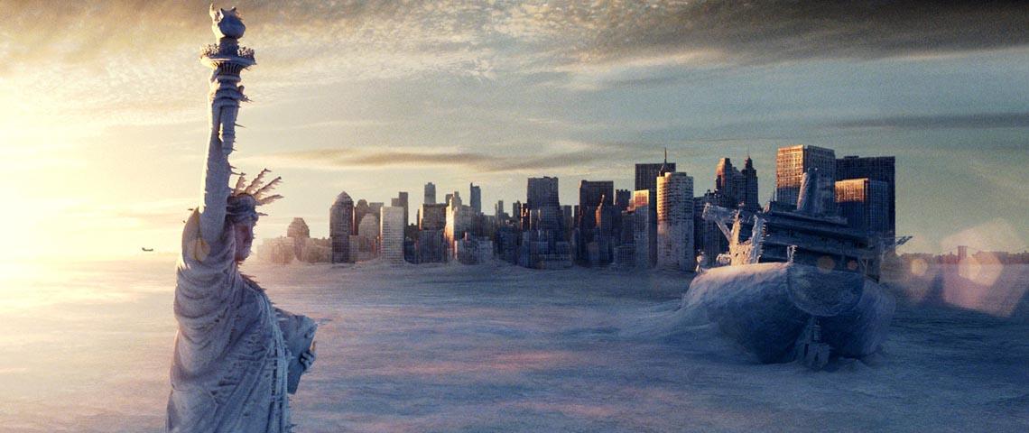 extrait visuel de new york du film le jour d'après