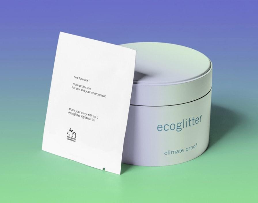 packaging d'une crème luttant contre le réchauffement climatique