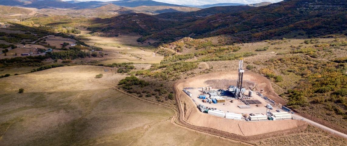 Un puits de pétrole dans
