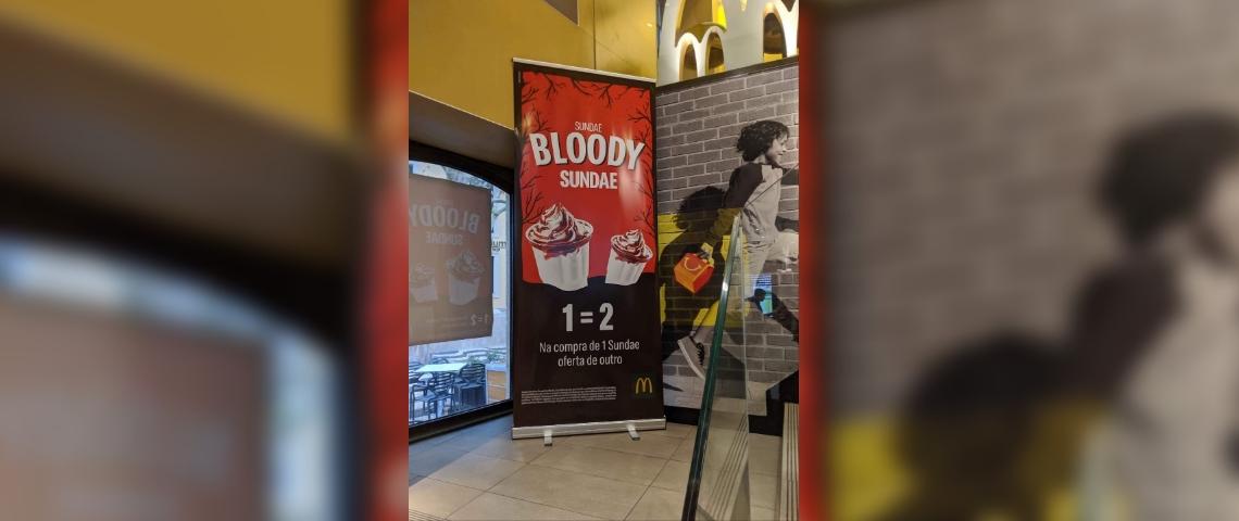 La campagne de McDonald's au Portugal pour Halloween