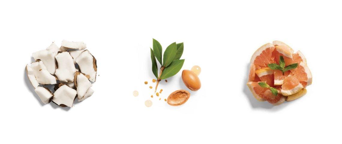 Phot de produits naturels qui peuvent constituer les produits d'hygiène