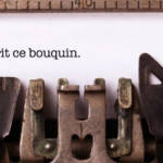 machine à écrire typo