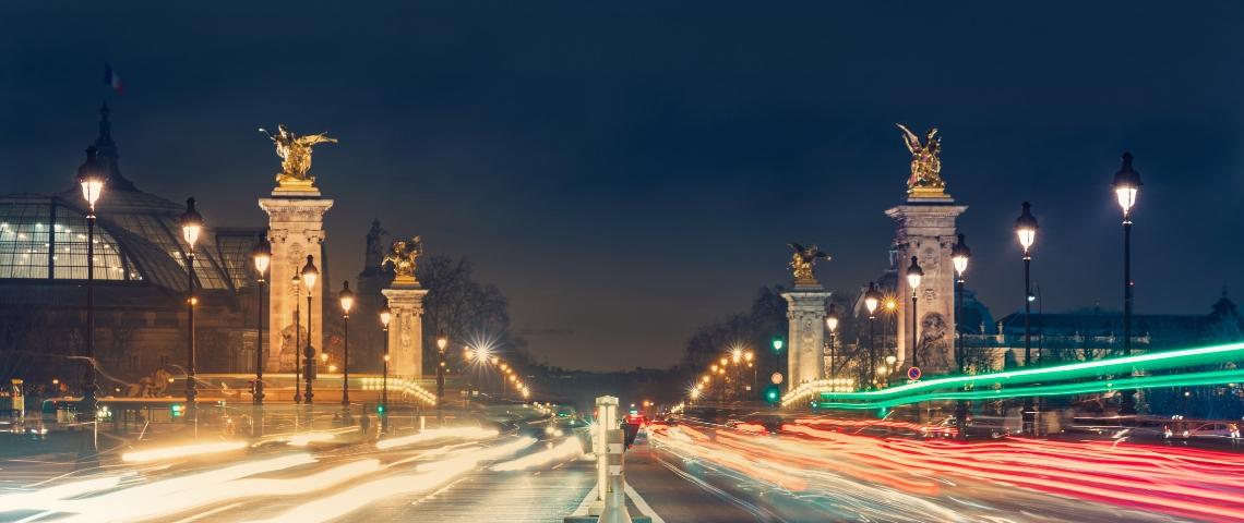 photo paris la nuit