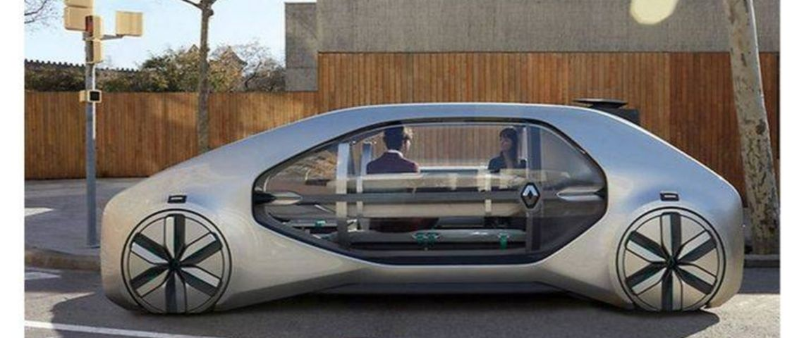 Un robot-taxi de Renault
