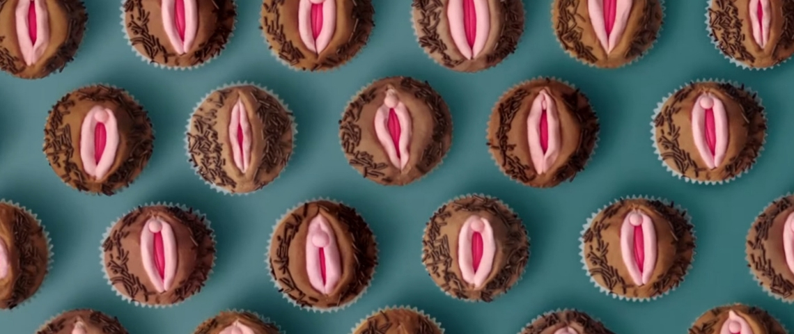 des cupcakes en forme de vagins