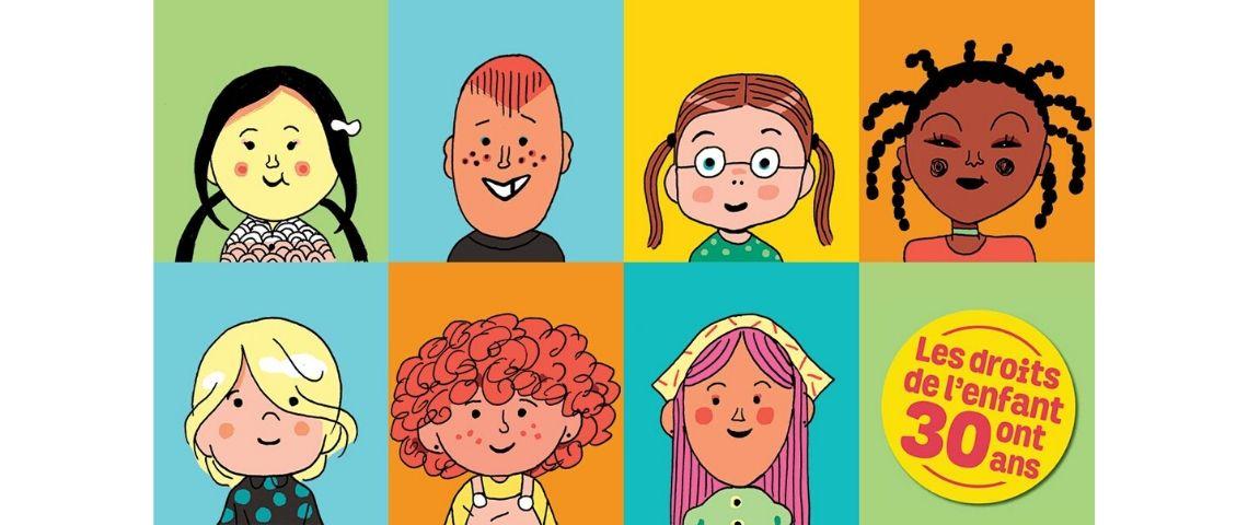 Dessins d'enfants qui représente la diversité