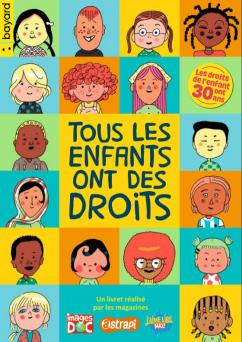 """Page de couverture du livret """"Tous les enfants ont des droits"""""""