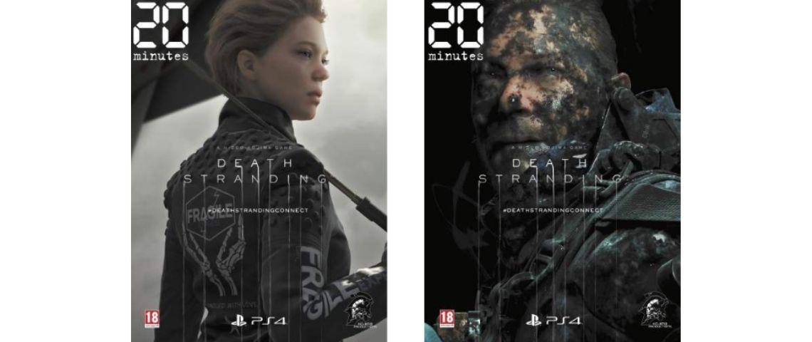 Visuel du jeu vidéo Death Stranding