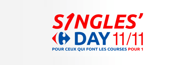 logo singles day carrefour