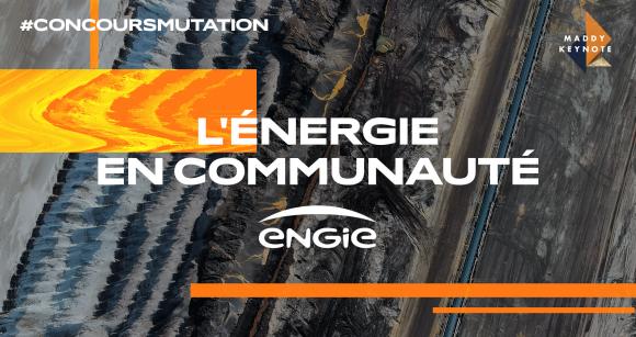 Logo startup mutations : L'énergie en communauté