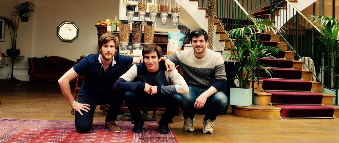 Fondateurs de la startup Totem