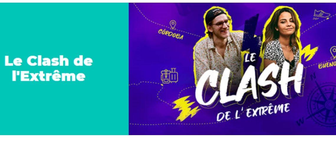 Logo de la campagne le clash de l'extrême