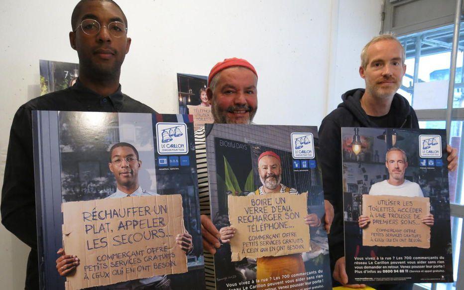 Photos 3 commercants ambassadeurs du réseau La Cloche du