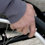 Visuel d'un fauteuil roulant