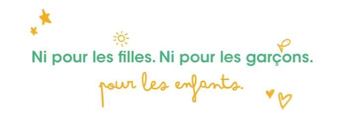 Slogan de la campagne Pandacraft : Ni pour les filles, Ni pour les garçons. Pour les enfants