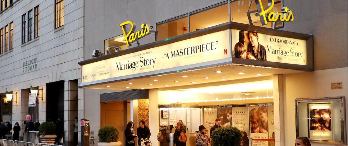 Le Paris Theatre à New York