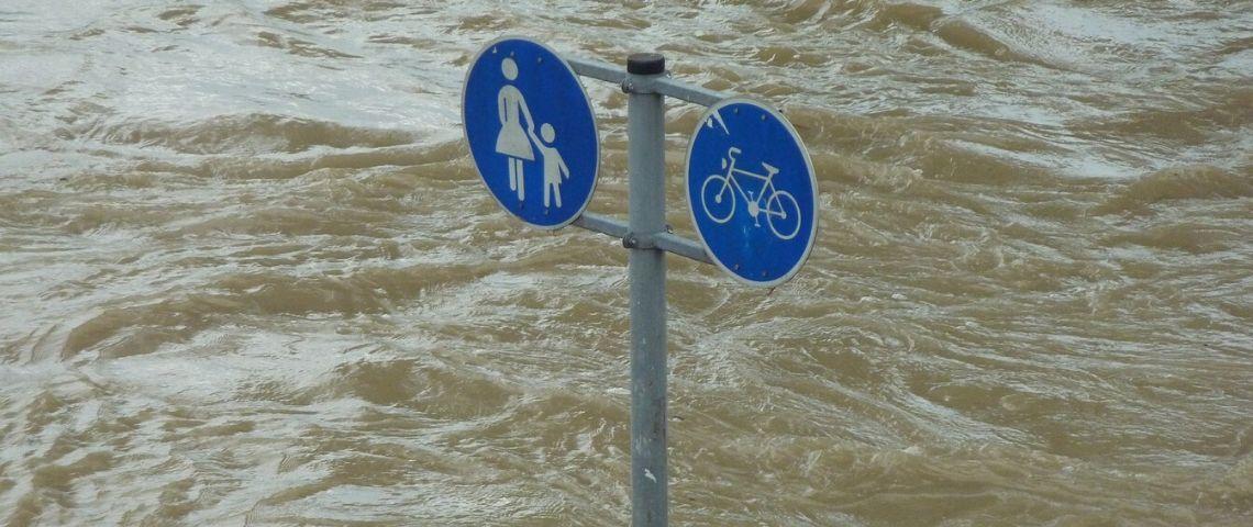 Innodation, panneaux immergés sous l'eau