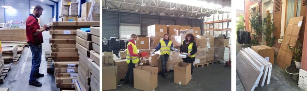 Photos des bénévoles de Partagence