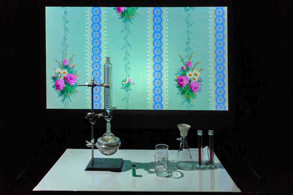 Une installation artistique et scientifique
