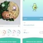 Capture d'écran de l'application Foodvisor